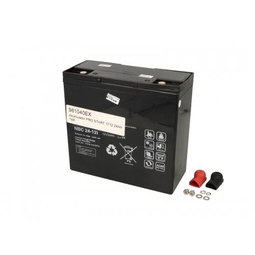 Dispozitiv cu accesorii si piese de schimb pentru acumulator