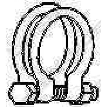 Clema sistem de evacuare gaze
