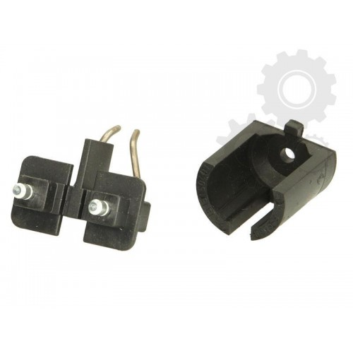 Parking heating ignition electrode